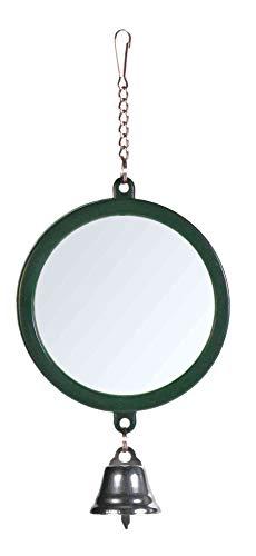 Trixie 5216 Spiegel mit Glocke, ø 7 cm