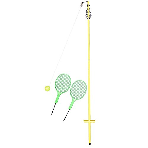Best Sporting Twistball-Set inkl. 2 Twistball-Schläger - Swingball - Circletennis