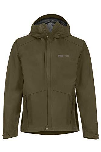 Marmot Herren Hardshell Regenjacke, Wasserdicht, Winddicht & Atmungsaktiv Minimalist Jacket, Nori, M, 31230