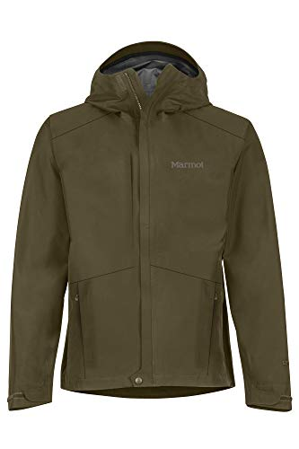 Marmot Herren Minimalist Jacket Hardshell Regenjacke, Wasserdicht, Winddicht & Atmungsaktiv, Nori, M