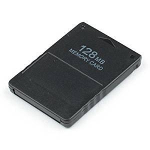 OSTENT Schnelle Geschwindigkeit 128MB Speicherkarte Stick Unit Memorykarten Kompatibel für Sony Playstation 2 PS2 Konsole Videospiele Zubehör