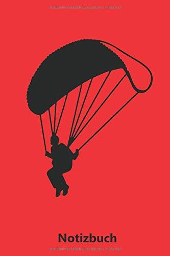 Notizbuch: Fallschirmspringer - Fallschirmspringen (liniert | 100 Seiten)