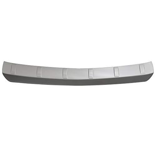 Aroba AR6604 Ladekantenschutz kompatibel für Opel Mokka (vor Facelift) ab BJ. 11.2012 bis 09.2016 Stoßstangenschutz passgenau mit Abkantung ABS Sonderfarbe Silber
