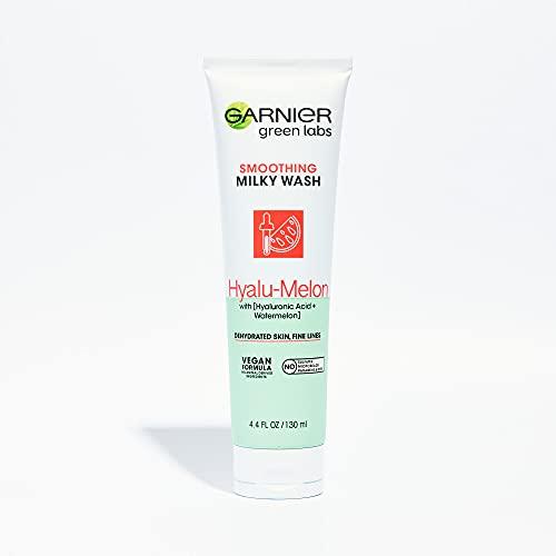 Garnier Green Labs Hyalu-Melon Smoothing Milky Cleanser 130mL
