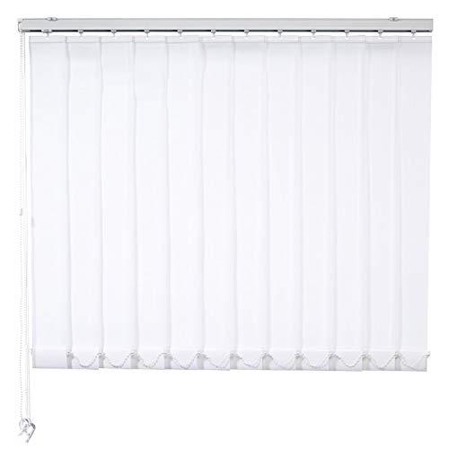 ROLLER Lamellenvorhang - weiß - 250x250 cm