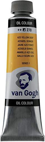 Royal Talens VGOC40-270 Van Gogh Oil Paint - Azo Deep Yellow