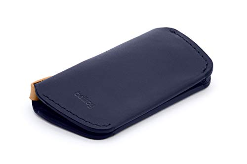 Bellroy・ベルロイ Leather Key Cover Second Edition キーケース 本革 (鍵4つまで収納可) - Navy
