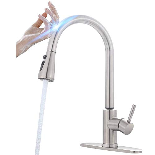 Touch Kitchen Faucet with Pull Down Sprayer,...