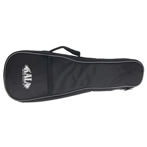 Kala Gig Bag for Soprano Ukulele with Gray Piping & Logo