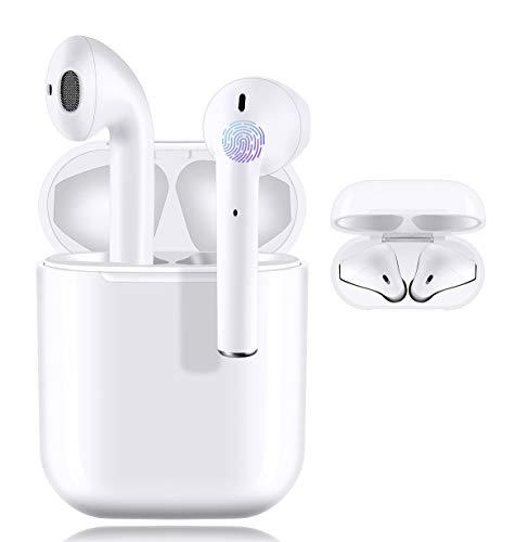 i12 Bluetooth-Kopfhörer,kabellose Touch-Kopfhörer HiFi-Kopfhörer In-Ear-Kopfhörer Rauschunterdrückungskopfhörer,Tragbare Sport-Bluetooth-Funkkopfhörer,Für Apple/Android/AirPods Pro/iPhone/Samsung