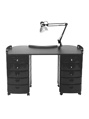 Pibbs 2004 Zorro Dolly Manicure Table for Salons & Spas, PIB-2004