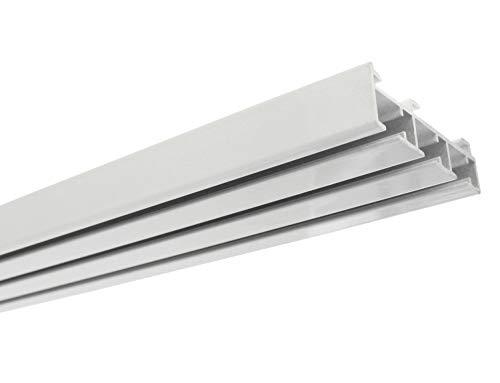Gardinia Guida per Pannelli in Alluminio, Bianco, 160 cm