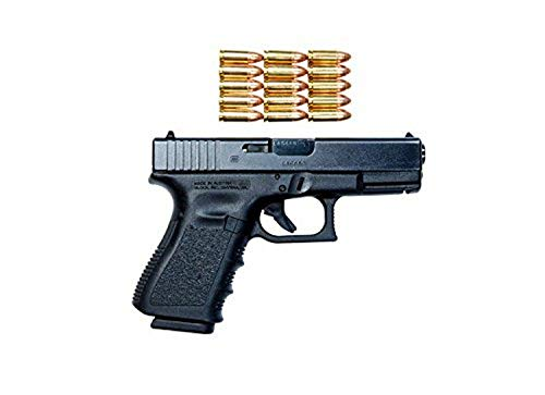 Posterazzi Poster Print Collection Glock Model 19 Handgun with 9mm Ammunition Terry Moore/Stocktrek Images, (17 x 11), Multicolored