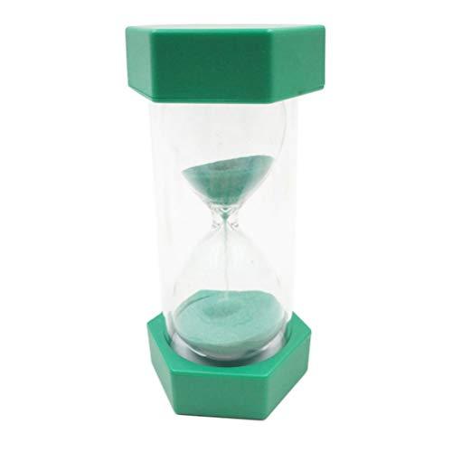Supvox Sanduhr 20 Minuten Sanduhr Uhr abnehmbar Kunststoff farbige Sanduhr kinderspielzeug Geschenk kinderspiele klassenzimmer Home Office küchengebrauch