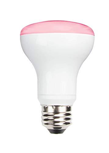 TCP RLR20HH 50 Watt Equivalent LED Plant Light Bulb Shatter Resistant Energy Efficient (8W) Non-Dimmable   R20 Lamp E26 base, Full Spectrum