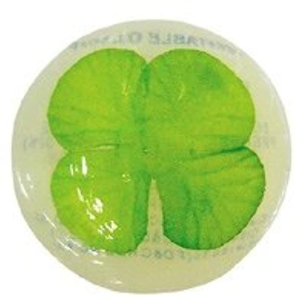 アライメント同行する暴露ベジタブルソープ ハッピーリーフ「クローバー」20個セット フローラルブーケの香り