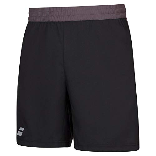 Babolat Boy's Play Tennis Shorts, Black/Black (US Youth Size 10-12)