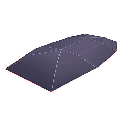 KKmoon Ombrello per Auto Copertura Parasole Tenda in Tessuto Oxford 4 * 2,1m Protezione UV Universale, Blu Navy (senza Telaio)