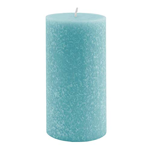 Root Candles Unscented Timberline Pillar Candle , 3 x 6-Inches, Sky