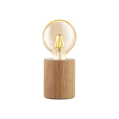 EGLO TURIALDO Lámpara de Mesa, marrón