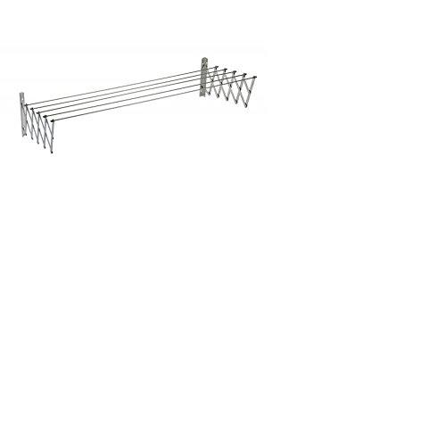Sauvic Aluminio Tendedero Extensible 160 Cm