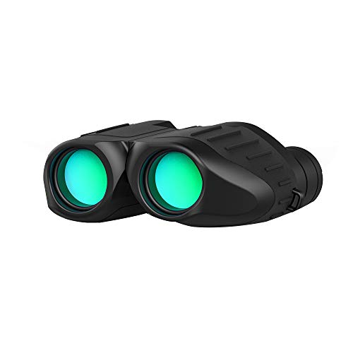 Leepesx Fernglas 10X25 Tragbares Nachtsichtgerät mit hoher Lichtstärke ohne Infrarot