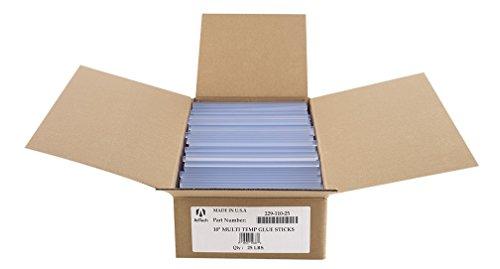 """Adtech 229-110-25 Bulk High Temperature Hot Glue Sticks, 25 lb/10"""""""