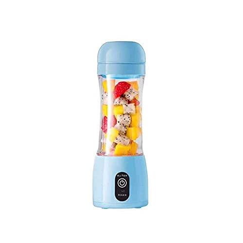 LUOYANFA Exprimidor eléctrico Juicer portátil de carga USB Juicer eléctrico de frutas y exprimidor taza acompañante taza de jugo adecuado para viajes en casa oficina al aire libre
