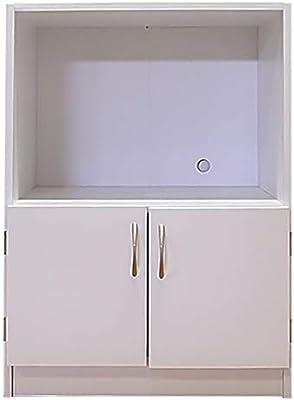 ユニットキッチンカウンター 家電収納 幅60 (ホワイト)