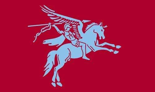 Benen Galore Pegasus Airborne 5ft x 3ft Vlag