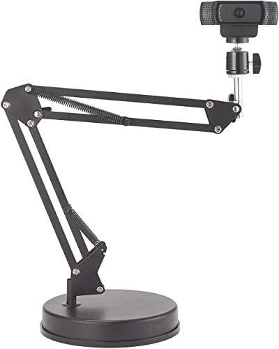 OXENDURE Soporte para Webcam Soporte para Brazo de 22 Pulgadas con Base,...