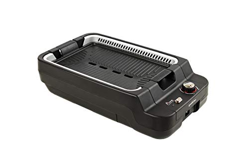 Aone Grill - Smokeless Electric Eco-Friendly Indoor Grill, Eliminate Smoke and Odor (Black)