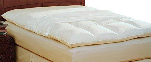 Pacific Coast Feather Company 4803 100% Cotton Feather Bed Protector, Queen