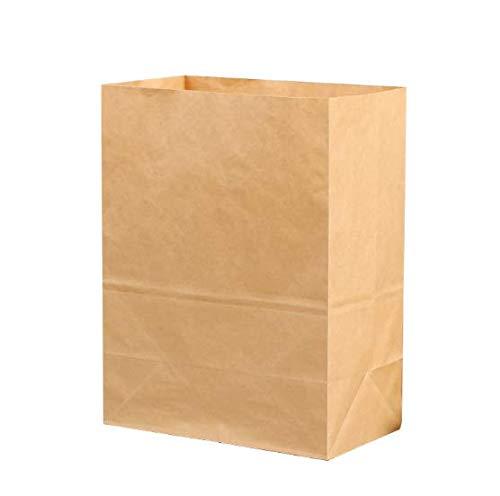 Papieren zakken voor voedsel, Pack bruin papieren zakken van 100