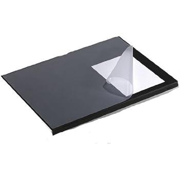 Durable 7293 01 Schreibtischunterlage Mit Kantenschutz Schwarz 5 Stuck Amazon De Burobedarf Schreibwaren