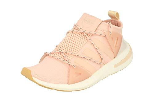 Adidas Mujeres Arkyn Running Sneakers (UK 7.5 US 9 EU 41 1/3, Ice Pink Linen BB7585)