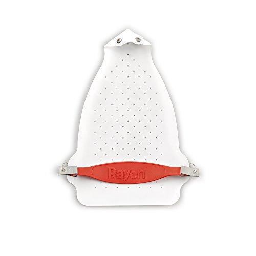 Rayen 6205.01 Suela protectora para plancha, Teflón, Blanco