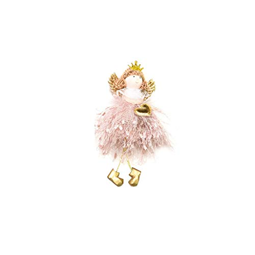 Christmas Decoration The Angel Gift Angel Plush Doll Guardian Angel Prayer Doll Baptism Gift for Boys and Girls Baby Gift Cute Doll Angel Toy Christmas Tree Pendant Gift