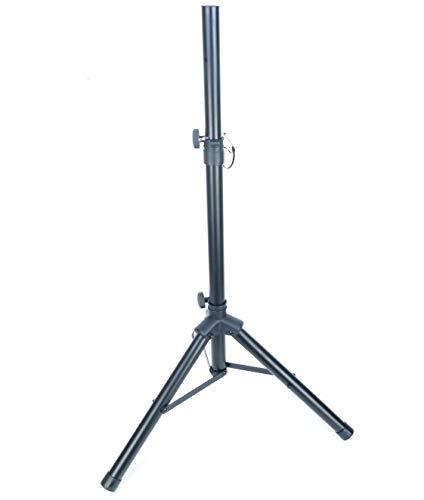 PROFI Lautsprecherstativ S30B 25 kg / 75-132 cm Stahl schwarz - Boxenstativ/Boxenständer mit extra breite Dreibein