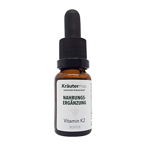 Kräutermax Vitamina K2 gotas 1 x 15 ml MK7 All Trans Liquid