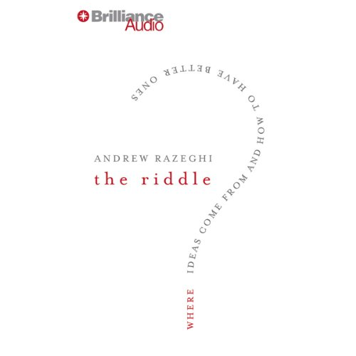 The Riddle audiobook cover art
