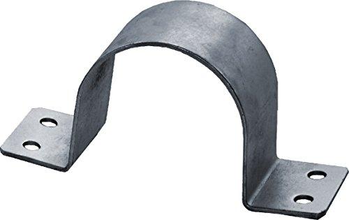 SKT BN80-01 Abrazadera de fijación del mástil (48-50 mm, Tubo caño Soporte) Color Plata