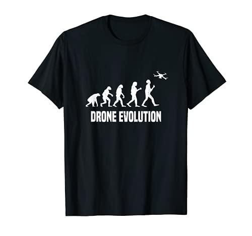 Drone Evolution   Ventilador de operador de drones con licencia profesional Camiseta