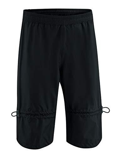 Gonso Unisex Hosen Drain, schwarz, XL
