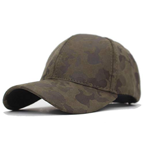 XNSW Gorra de béisbol para Hombre, Gorras de Cuero de Camuflaje, Sombreros de Mujer para Hombre, Gorra de Camionero Informal para papá, Sombrero-1