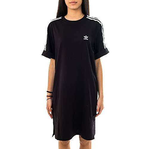 abito donna 46 adidas GN2777 Tee Dress Abito Donna Black 46