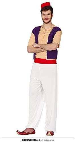 FIESTAS GUIRCA- Guirca Disfraz Adulto Aladino T 52-54, Multicolor (79295)