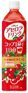 Nichirei acerola drink 900mlPETX12 pieces X (2 cases)