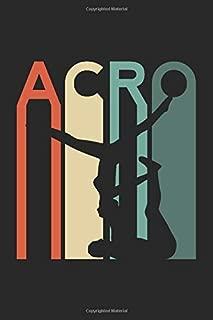 Acro: Yoga Gymnast Acrobat Notebook and Journal