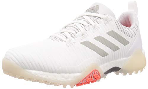 adidas CodeChaos - Zapatos de golf (blanco/gris metálico/gris claro)